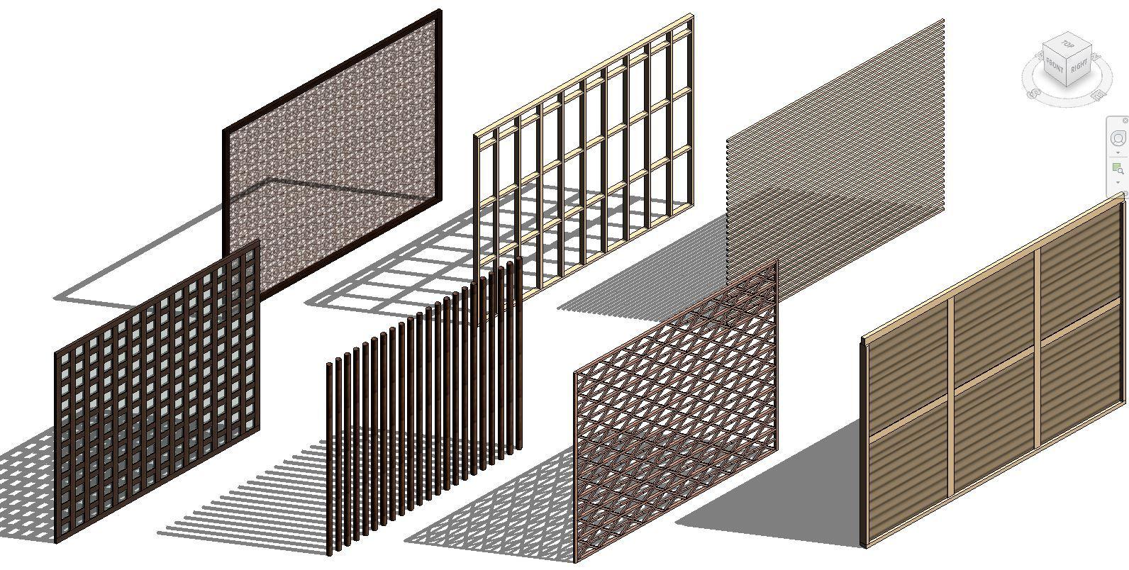 Parametric Curtain Wall Panel Revit