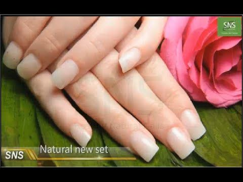 SNS Nail - Signature Nail Systems :How to do Natural Set dipping ...