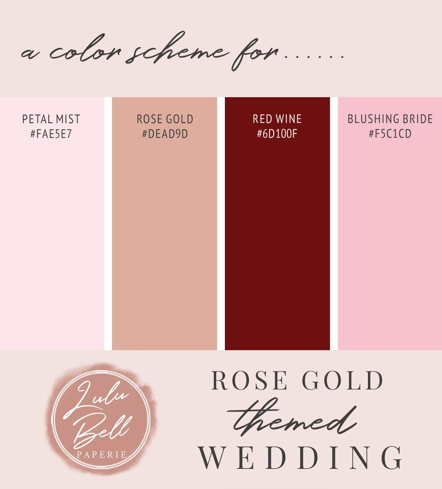 Burgundy Floral And Rose Gold Wedding Theme A Rose Gold Blush Pink Wine Red Burgundy Color Sc Gold Wedding Colors Wedding Rose Gold Theme Gold Wedding Theme