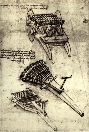 Leonardo Da Vinci Invention Drawing. Art Experience NYC www ...
