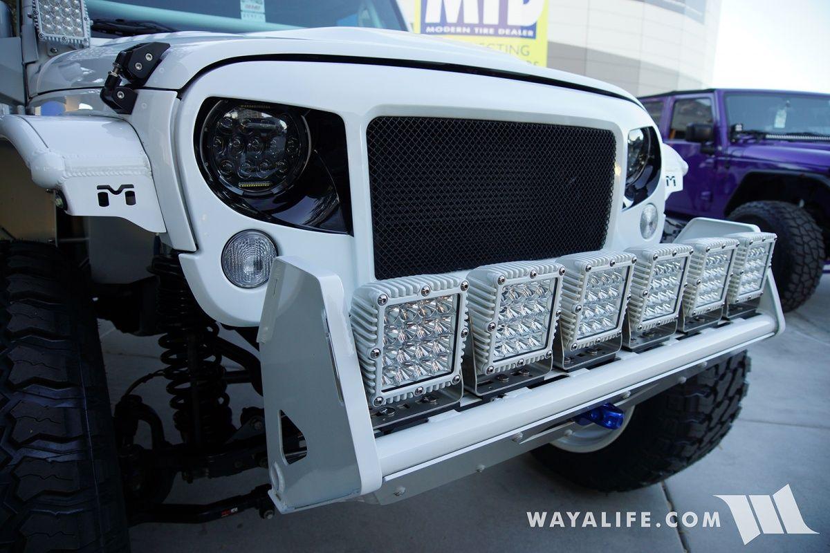 Champion 4x4 White Jeep Jk Wrangler Unlimited