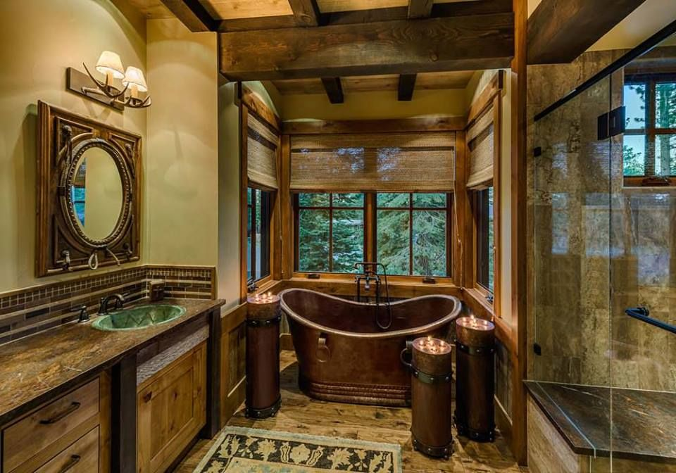 Website Picture Gallery Stunning u Elegant Rustic Log House In The Woods With Charming Interiors