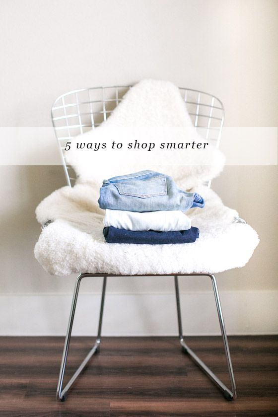 Unfancy Capsule: 5 Ways To Shop Smarter