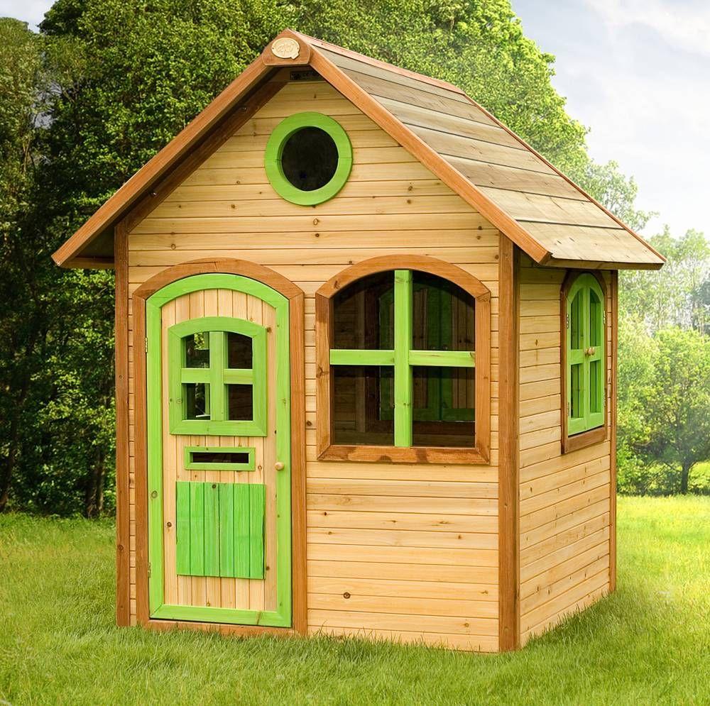 Axi Spielhaus Julia, Holz, Gartenhaus Holzhaus garten