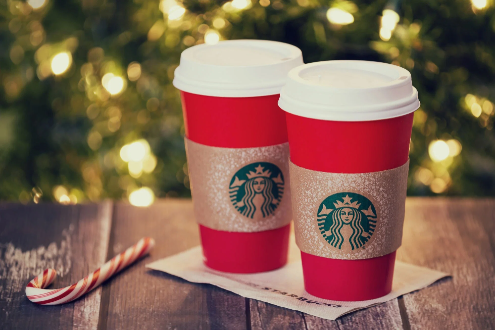 When does Starbucks' Christmas menu launch and will the