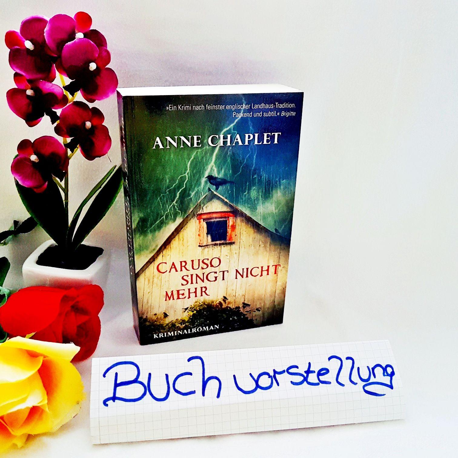 Caruso Singt Nicht mehr von Anne Chaplet