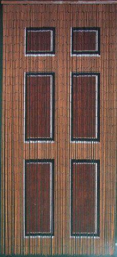 Wooden Door Beaded Curtain 125 Strands (+hanging hardware) by ...