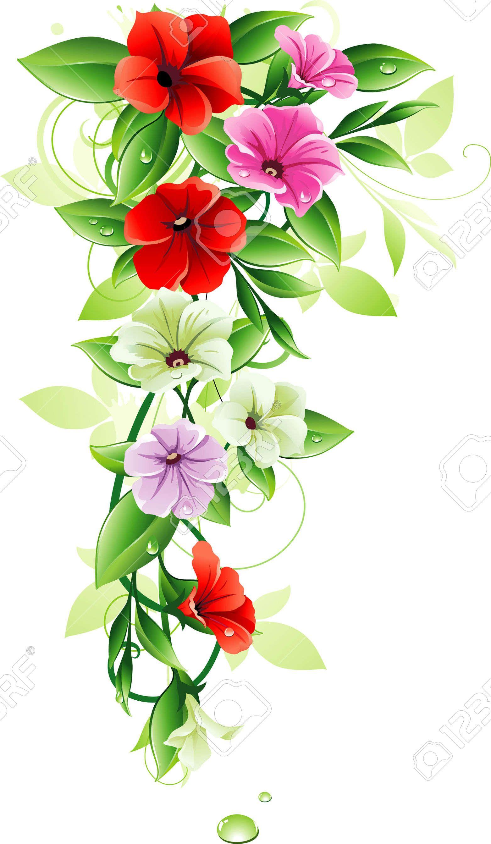 Vector floral design chalkboard art pinterest floral designs floral design izmirmasajfo