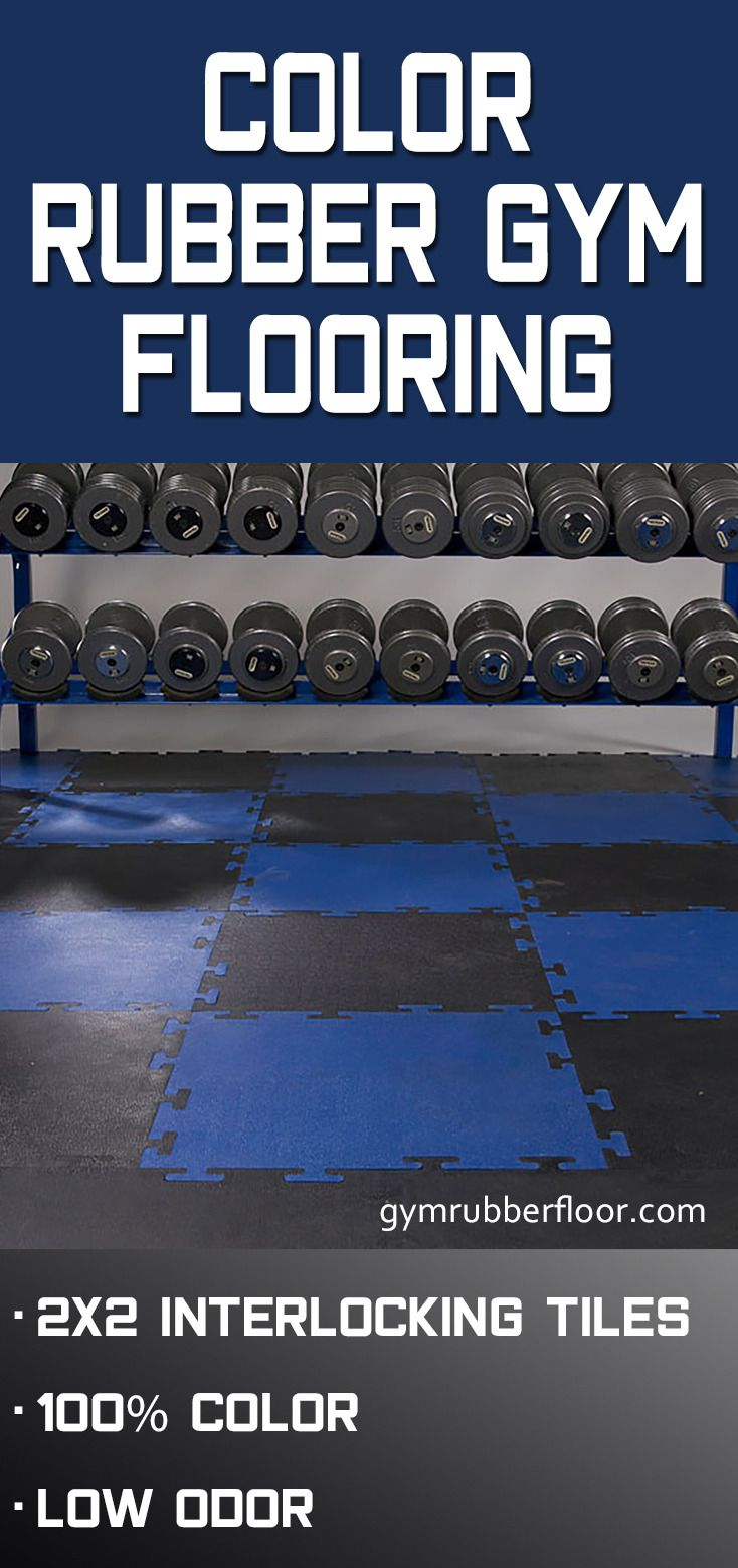 Color Plus Rubber Tile All Colors Home Gym Flooring