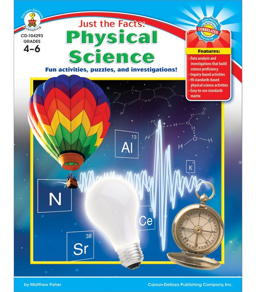 Just the Facts Physical Science Resource Book Physical