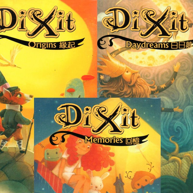 3 kinds dixit board game