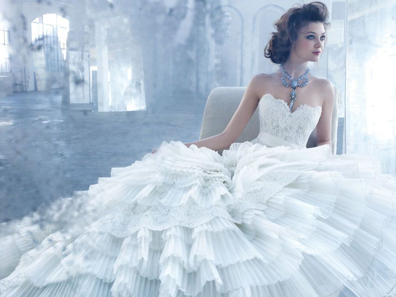 Lazaro Spring 2013 Wedding Dress