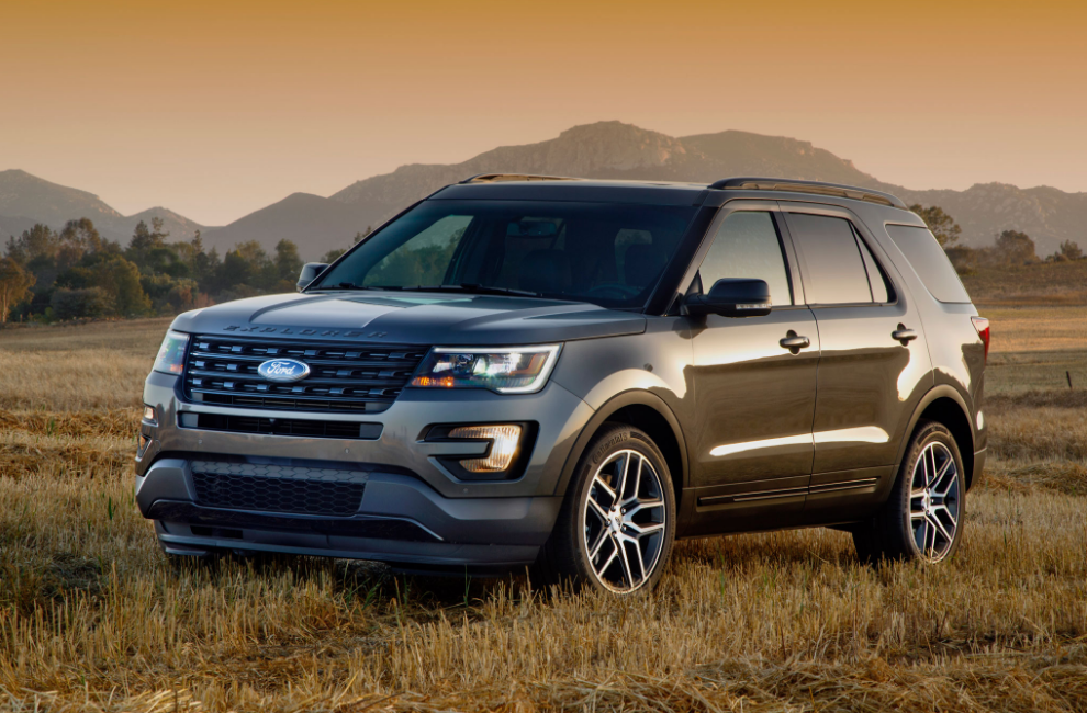 2016 Ford Explorer Then again its 81 7 cubic feet of load space is