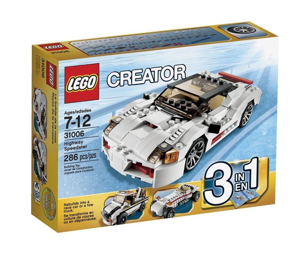 Lego Castle Sets Lego 31006 Lego Highway Lego 3 In 1 Building Toy Boys Girls New Lego Creator Lego Creator Sets Lego For Kids