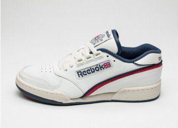 37c2edde2ee Reebok Revenge Plus Vintage (Chalk   Paperwhite   Royal Blue   Red) - NEW -  Sneaker