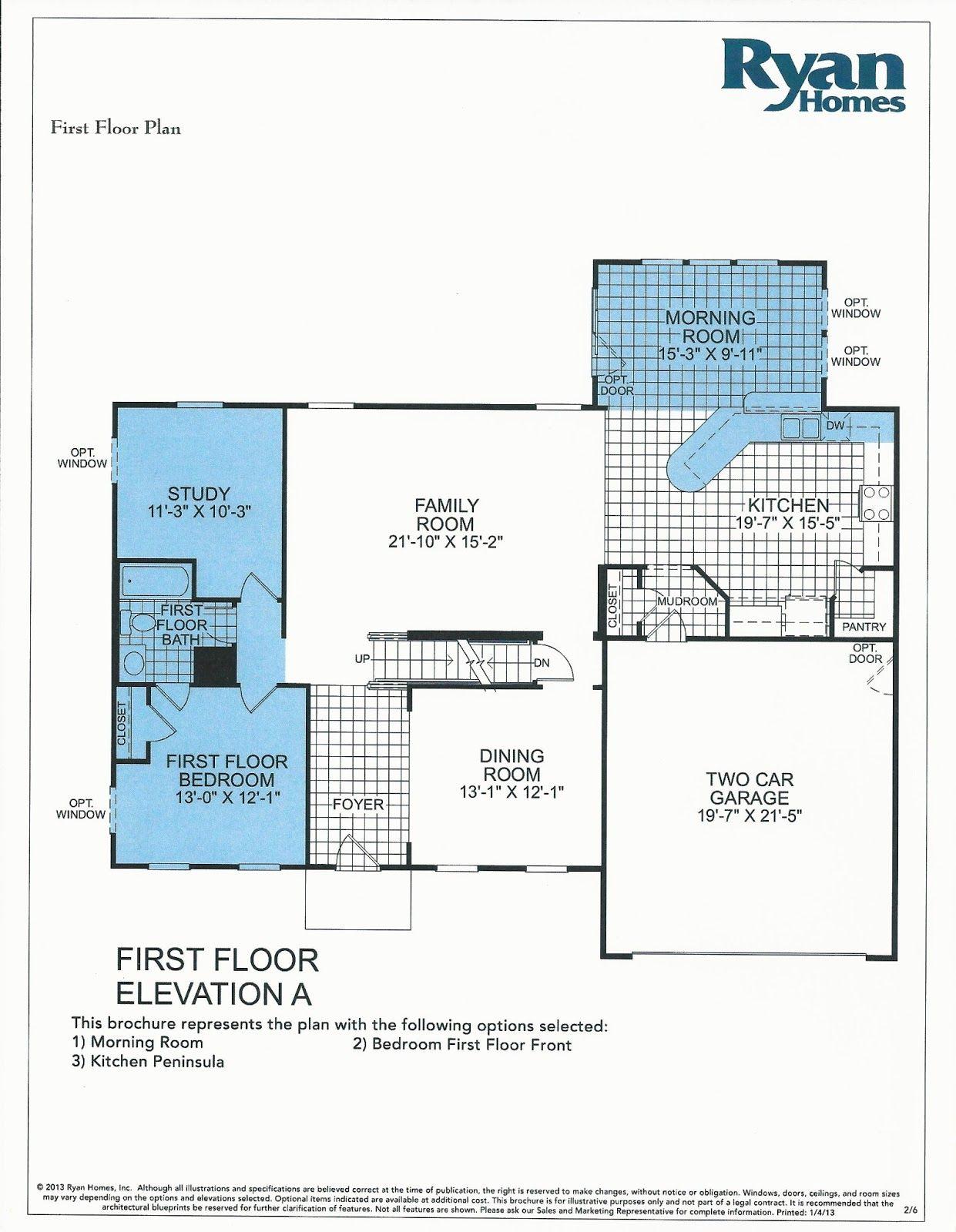 Building A Verona With Ryan Homes Verona Floor Plan Ryan Homes Floor Plans Ryan Homes Venice