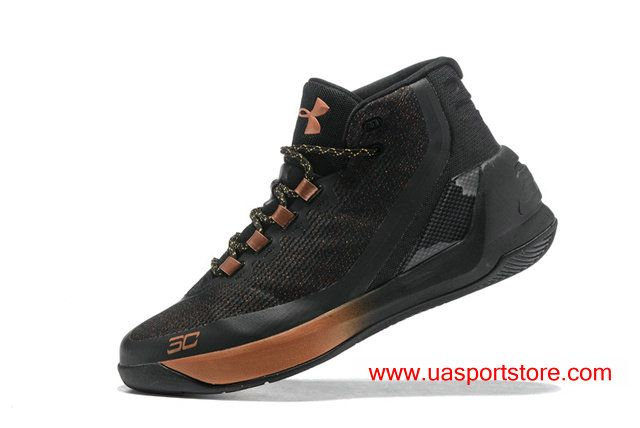 9a25d6d4967 UA Curry 3 ASW Under Armour Black Metal Bronze Men s Basketball Shoes