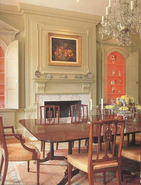 Early American House Colonial House Interior Colonial Dining Room Farmhouse Style Living Room