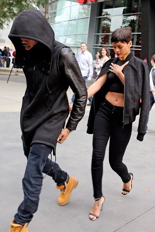 Rihanna Chris Brown I Love Them Both In