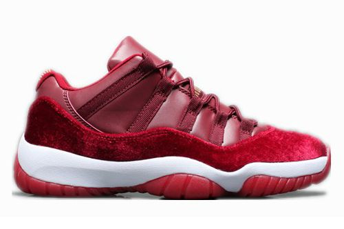 ab156b5206c Air Jordan 11 Low Velvet Night Maroon | Jordans | Jordan shoes ...