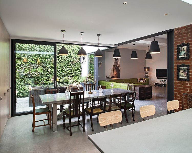 Calvin Street Home by Chris Dyson Architects Almacén, Victoriano y - cocinas grandes de lujo