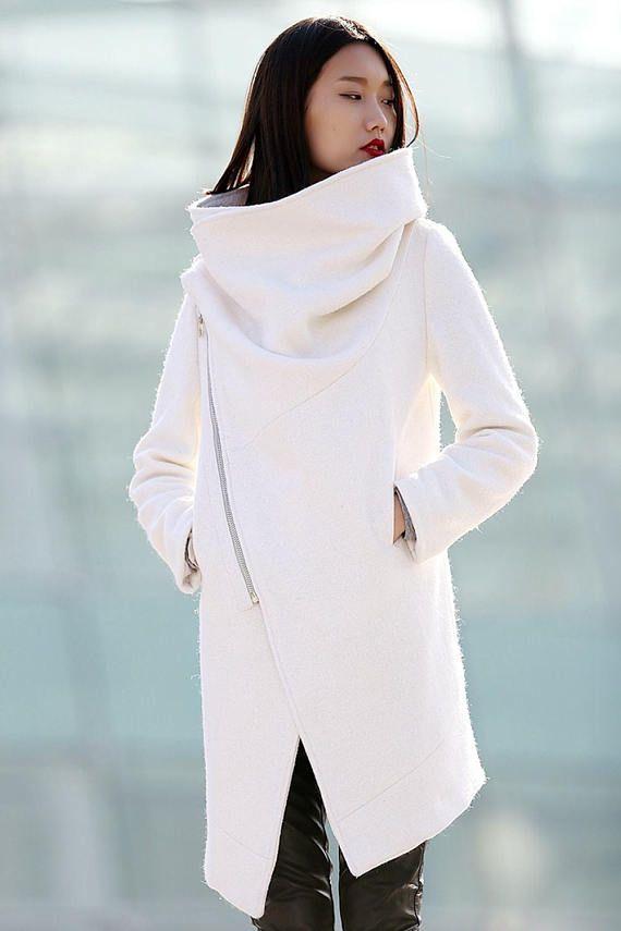 39bebe6a4e282 Winter coat Wool Coat coat White coat womens jackets