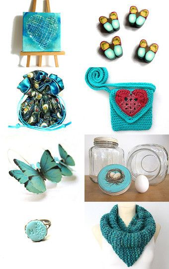 Secret hearts by Chifonie on Etsy--Pinned with TreasuryPin.com