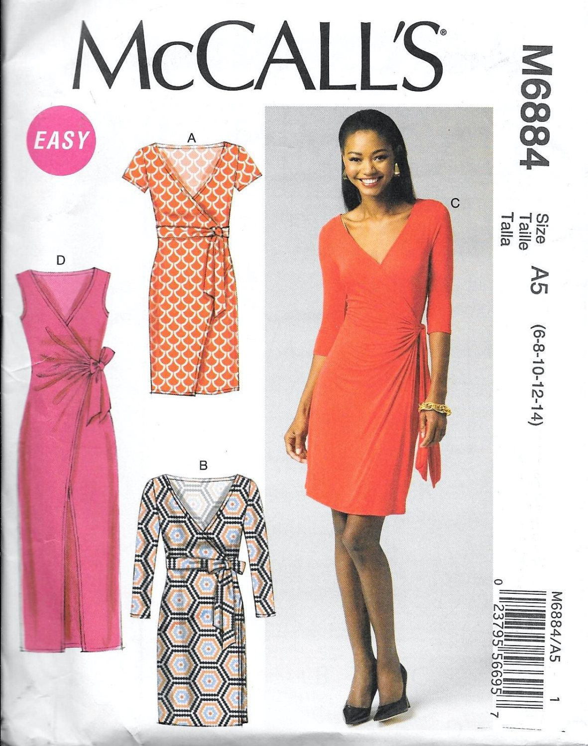 Wrap Dress Sewing Pattern Magnificent Ideas