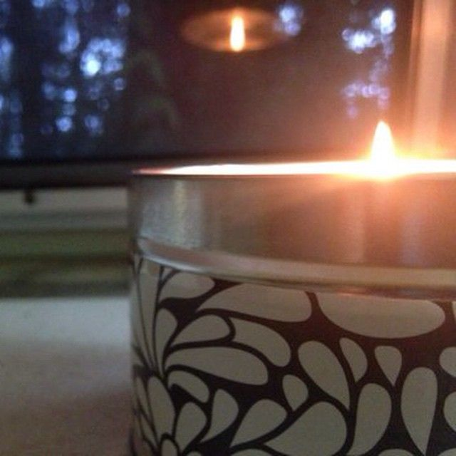 """A friend of mine gave me this yummy #vanilla #candle (my favorite scent) for Christmas. Makes the van feel and smell like home. Thanks Shelli! #vanlife…"""
