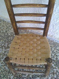 El Blog De La Restauradora Encordado De Una Silla Reparacion De Sillas Sillas Sillas Restauradas