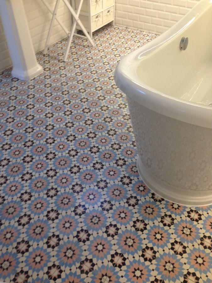 Encaustic tiles, bespoke order of Zaragoza 405 | DESIGN & DECOR ...