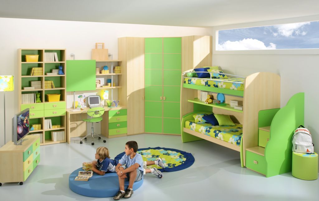 Green Bedroom For Boys 16 contemporary living room design inspirations 2012 | modern bunk