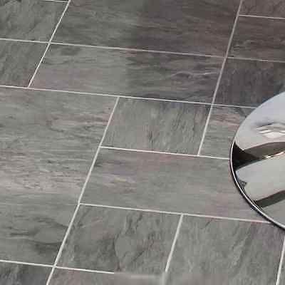 Libretto Black Slate Tile Effect Laminate Flooring 186 M Pack
