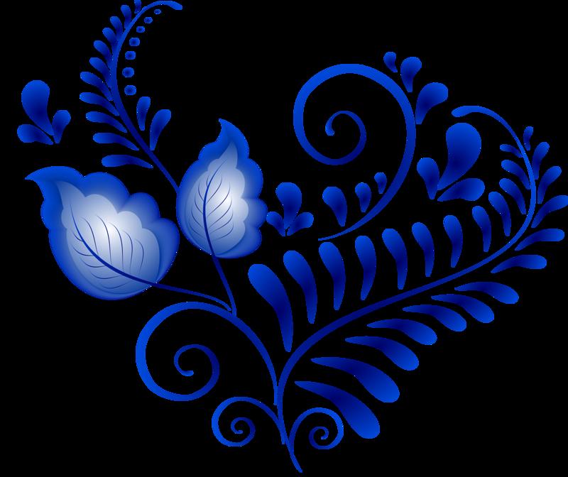 гжель картинки цветки три основных