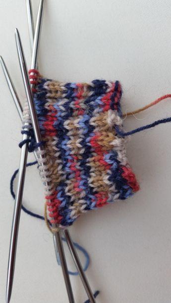 Socken stricken wie Oma mit ganz einfacher Anleitung!