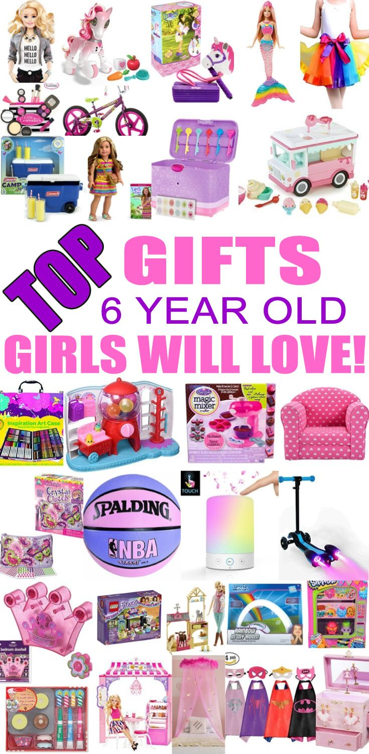 Top Gifts 6 Year Old Girls Will Love
