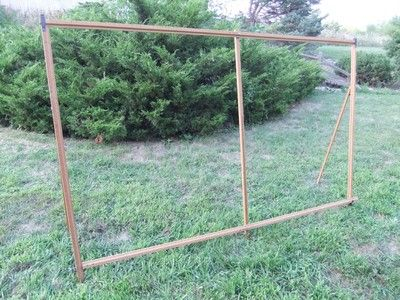 Another Vintage Item Of Torture, Wooden Curtain Stretcher Quilting Frame