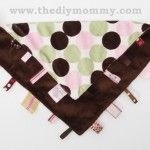 Sew a Ribbon Loop Blanket for Baby