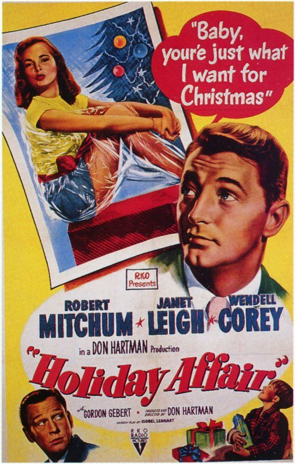 a holiday affair starring robert mitchum janet leigh really a cute christmas movie that deserves more acknowledgement - Christmas Movie Classics