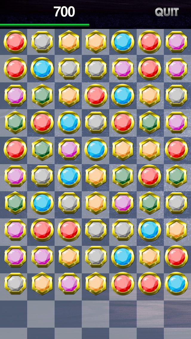 A Jewel Match Blitz Hidden Objects Puzzle Challenge With
