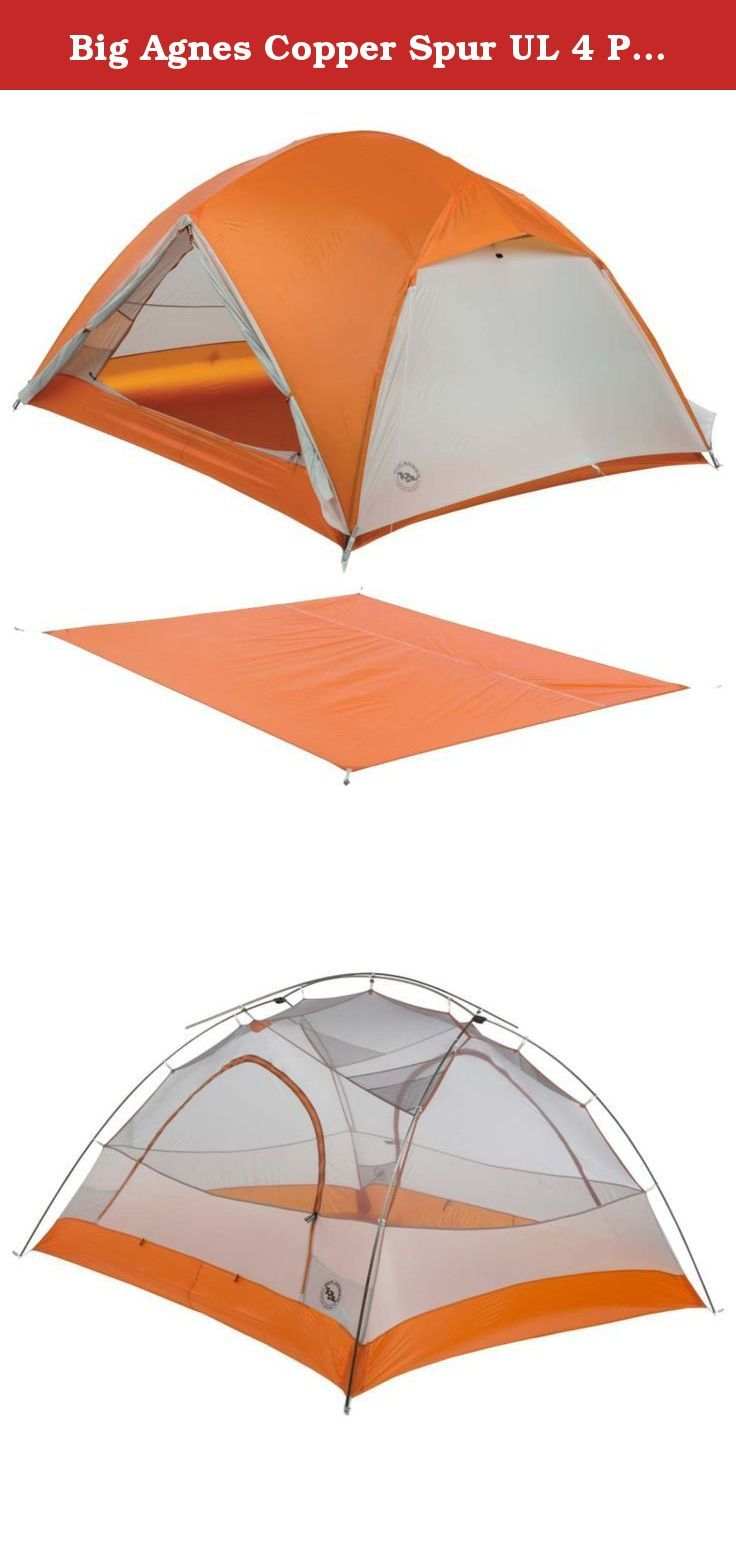 Big Agnes Copper Spur Ul 4 Person Tent W Footprint Big Agnes Makes Copper Spur Tents A Risk Free Investment Full 4 Person Tent Tent Easy Like Sunday Morning