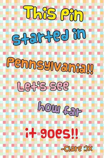Lets See How Far It Goes Pennsylvania Florida California Ohio
