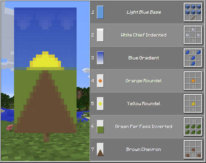 how to create banners in minecraft