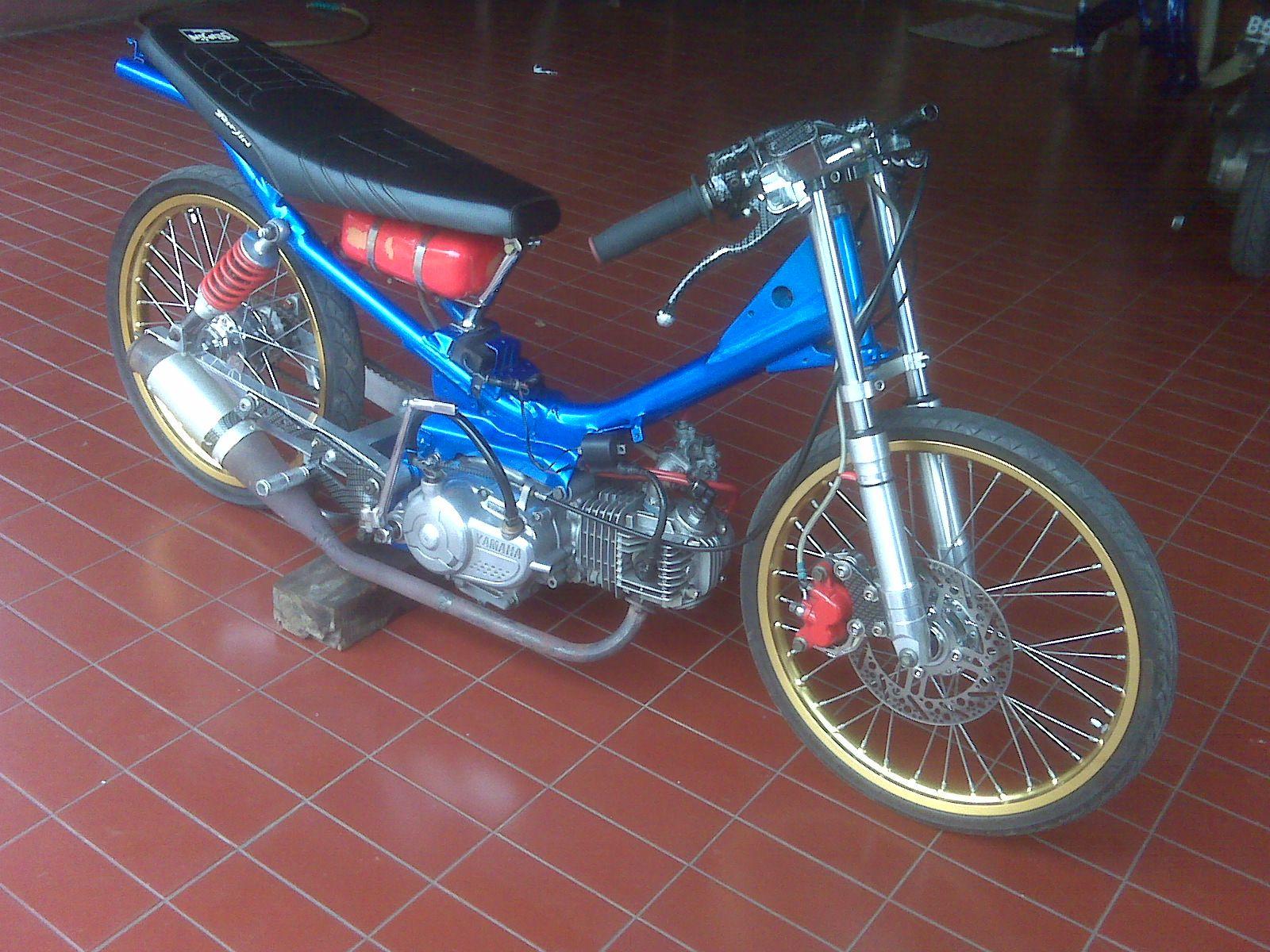 street racing moped