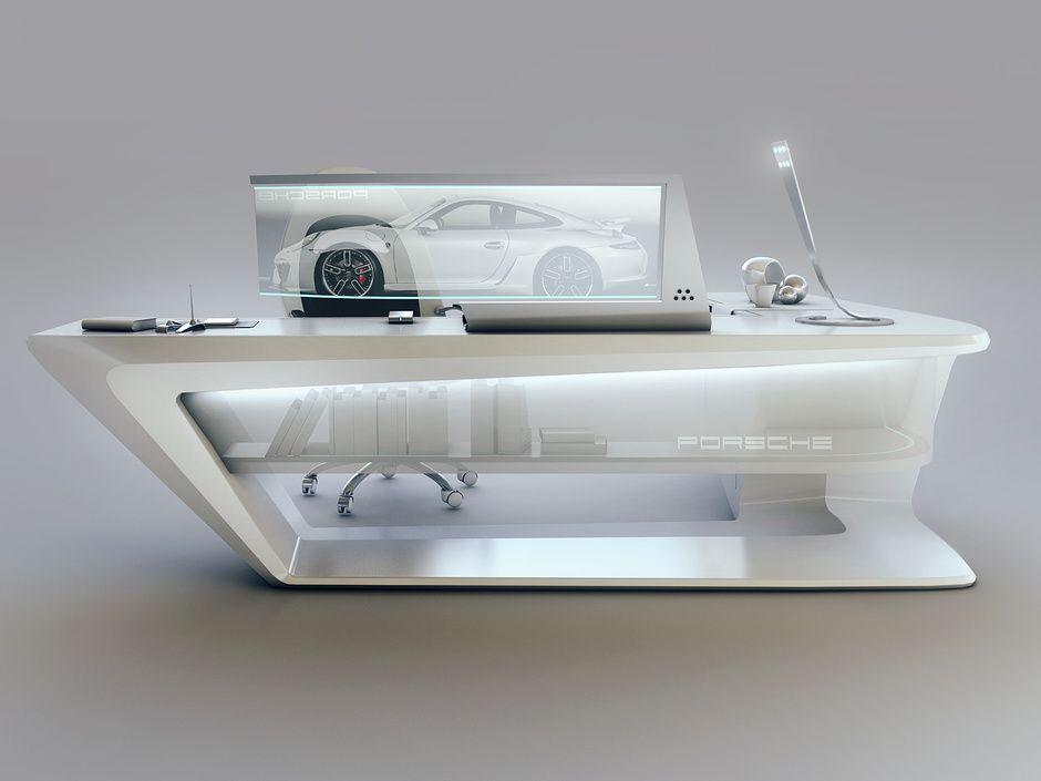 Modern Desk modern desk designencho enchev | sci-fi | 3d | cgsociety