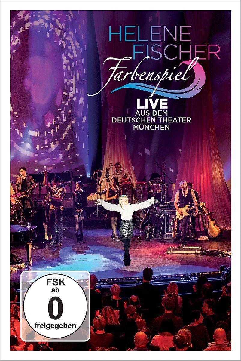 Dvd Farbenspiel Live Aus Munchen Deutsches Theater Helene Fischer Farbenspiel Dvd