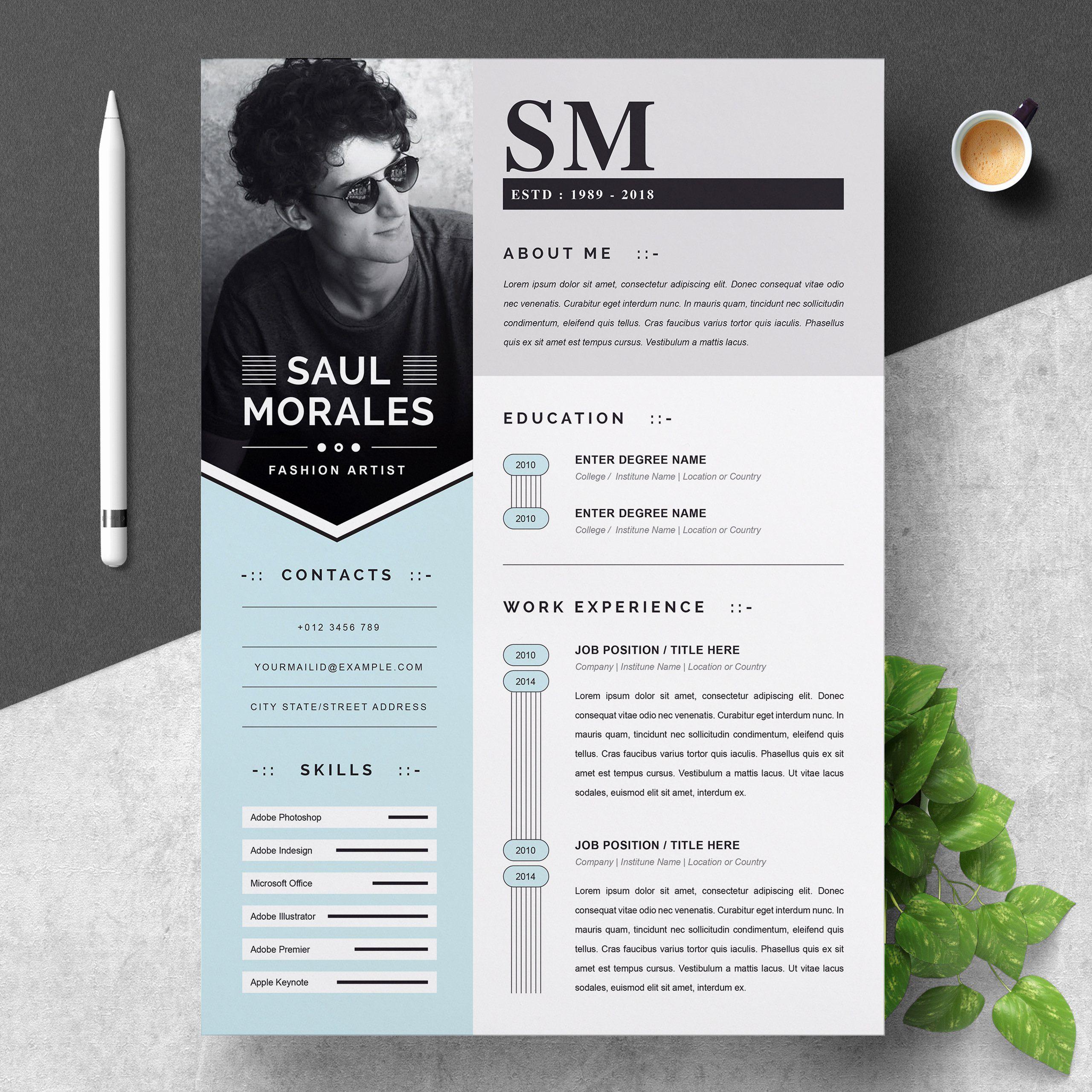 Creative Resume Templates Free Word Awesome Creative Resume Templates Free Premim Cv Templates Cv Graphiste Modele Cv Curriculum Vitae Word