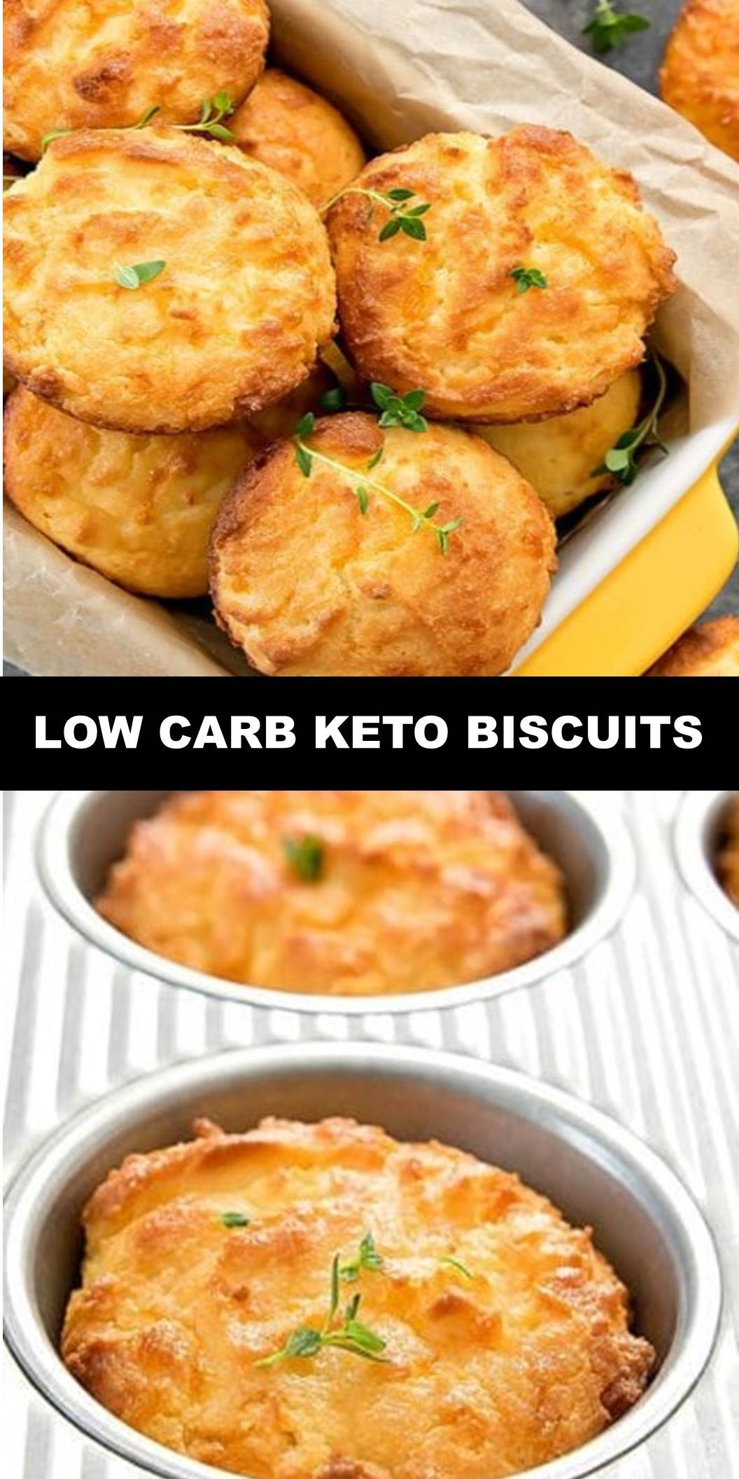 The World's Most Delicious Low Carb Keto Biscuits PREP TIME: 10 MINUTESCOOK TIME: 10 MINUTESTOTAL TIME: 20 MINUTESCOURSE: APPETIZER CUISINE: AMERICAN SERVINGS: 9 BISCUITS These tender, soft drop biscuits are ready in less than 30 minutes. You won't miss the flour at all! These biscuits are gluten free, keto and low carb.