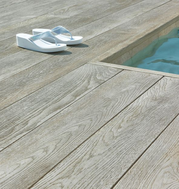 Millwood Faux Wood For Swimming Pool Wood Pool Deck Composite Decking Composite Flooring