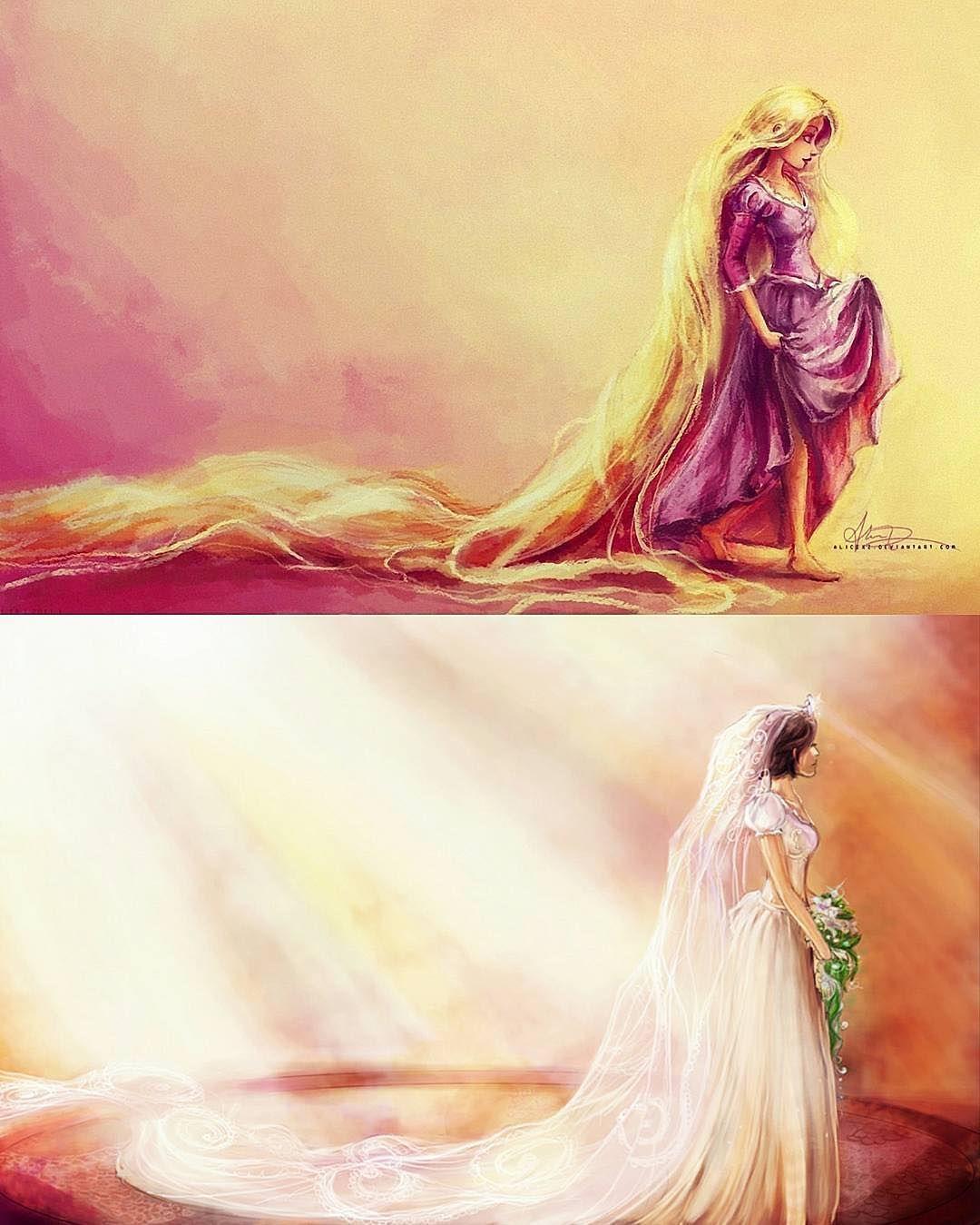 Rapunzel #lovely#arts#Disneyart